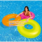 (ขนาด 36 นิ้ว) ห่วงยาง สีสะท้อนแสง INTEX 59262 Neon Swim Ring 91 cm *** มีส้ม สีเขียว สีชมพู*** นีออน