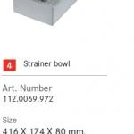 อุปกรณ์เสริมอ่าง FRANKE รุ่น Strainer bowl