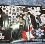 [Poster พร้อมส่ง 1 ใบ] Cnblue : 3rd Mini Album - EAR FUN