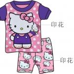 ชุดนอนเด็ก GCP_Baby ลาย  Kitty ไซส์ 2-7  ปี