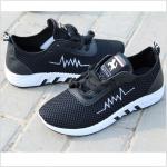 รองเท้าวิ่งออกกำลังกาย-สีดำ