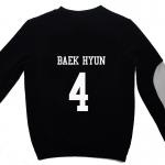 เสื้อ EXO SBS Inkigayo Black / Baekhyun