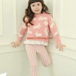 กางเกงเด็ก สีชมพู ไซส์ 7,9,11,13,15