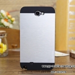 2 in 1 Hybrid Metal Aluminum motomo Case For samsung galaxy note2 n7100