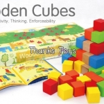 บล็อกไม้ Wooden Cubes