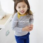 ชุดเด็กหญิงลาย Blue ไซส์ 100,110,130