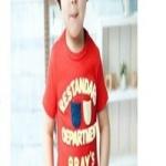 เสื้อผ้าเด็ก สีแดง ไซส์ 90,100
