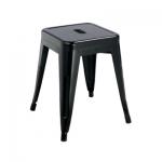 เก้าอี้สตูลเหล็ก 45 ซม.ดีไซน์โมเดิร์น สำหรับแต่งร้านกาแฟ ร้านอาหาร