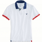 เสื้อโปโล American Eagle TIPPED POLO - WHITE