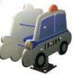 โยกเยกสปริงรถตำรวจ SIZE:36X75X74 cm.