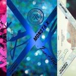 [Pre] Monsta X : 1st Album - BEAUTIFUL (Beautiful+Brilliant+Beside - Set Ver.) +Poster