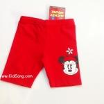 กางเกงเด็กสีแดง Minnie2 ไซส์ 1Y