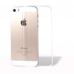 เคสไอโฟน5/5S เคสแบบ ซิลิโคลนนิ่มฝาหลังใส บาง 0.3M.