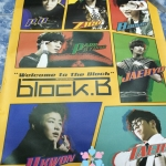 [Poster พร้อมส่ง 1 ใบ] Block B : 2nd Mini Album Repackage - Welcome To The Block