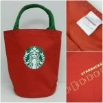 กระเป๋า starbucks (สีแดง)