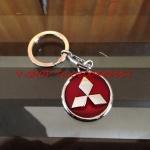 พวงกุญแจ Mitsubishi พื้นแดง