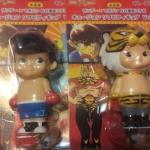 == Sold out == ตุ๊กตาคิวพี Japan Charactor 2009 (โคนัน หน้ากากเสือ มาโคโต๊ะเด็กฮาร์ท โจเจ้าสังเวียน) Set 4