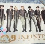 [Poster พร้อมส่ง 1 ใบ] Infinite : 2nd Album - Season 2