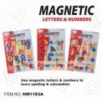First Classroom - Magnetic ตัวอักษรแม่เหล็ก ตัวพิมพ์เล็ก พิมพ์ใหญ่ และตัวเลข ขนาด 2 นิ้ว