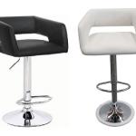 เก้าอี้บาร์ ดีไซน์เก๋ สามารถปรับระดับขึ้นลง เหมาะสำหรับร้านกาแฟ