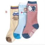 ถุงเท้าแบบยาว แพค 3 คู่ Set D
