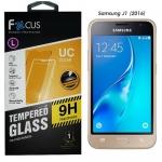 Focus โฟกัส ฟิล์มกระจก ฟิล์มกันรอยมือถือ Samsung Galaxy J1 2016 ซัมซุงกาแล็คซี่เจ1