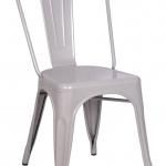 เก้าอี้เหล็ก สีขาว ดีไซน์โมเดิร์น สำหรับร้านอาหาร ร้านกาแฟ (MT-COLLECTION)