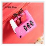 GL090 แม่กุญแจ หมุนถอดรหัส ไม่ต้องใช้ลูกกุญแจ รูปสีเหลี่ยม สวย น่ารัก ล๊อคกระเป๋า หรือ ตู้ขนาดเล็ก