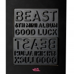 [Pre] Beast : 6th Mini Album - Good Luck (+ Member Random Lips Card) (Black Ver.)