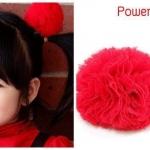 กิ๊บติดผมเด็ก Power Puff (RED) 1 คู่