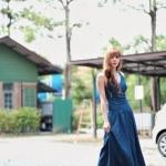 Jaspal Maxi Dress เดรสยีนส์ตัวยาวสไตล์jaspal ผ้ายีนส์ฟอก เย็บเข้ารูปช่วงเอว กระโปรงจับจีบเล็กน้อย น่ารักมากค่ะ