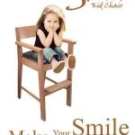 เก้าอี้เด็ก สีบีช ดีไซน์น่ารัก สไตล์ญี่ปุ่น