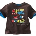 เสื้อเด็กเนื้อนิ่ม ลายTruks ไซส์ 18ด,2,3,6ปี