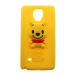 เคสฝาหลัง เคส Note 4 เคสซิลิโคน หมีพูห์