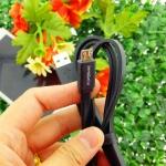 สายชาร์จ micro usb powermax สีดำ