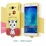 """""""Leiers Domi Cat"""" Series Ultra Compact PU Leather Soft Cover for Samsung Galaxy Core Prime G360"""