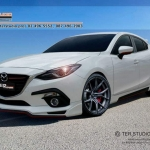ชุดแต่งรอบคัน Mazda3 2014 By Ter Studio
