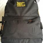 Superdry - True Montana Backpack - สีดำ ซิปส้ม
