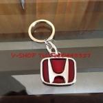 พวงกุญแจ H พื้นแดง