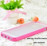 TPU+PC Transparent edge Case Cover For iphone 5/5s