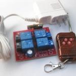 RF รีโมท คอนโทรล 4 ช่อง แบบเรียนรู้รหัสได้