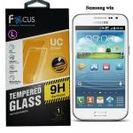 Focus โฟกัส ฟิล์มกระจกนิรภัยกันกระแทก ฟิล์มกันรอยมือถือ Samsung Galaxy Win ซัมซุงกาแล็คซี่วิน
