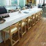 เก้าอี้บาร์วางคู่เคาน์เตอร์บาร์ญี่ปุ่น (TROPHY BAR STOOL)