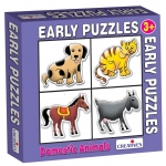 Creative Educational Aids Early Puzzles - Domestic Animals