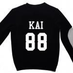 เสื้อ EXO SBS Inkigayo Black / Kai