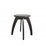 เก้าอี้สตูลขาโค้ง ดีไซน์สวย สีโอ๊ค สำหรับร้านกาแฟ ร้านเบเกอรี่