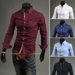 เสื้อเซิ้ต สำหรับผู้ชาย สไตล์เกาหลี JN001