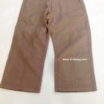 กางเกงขายาว Petit Chou สีน้ำตาลกากี ไซส์ 3,6Y
