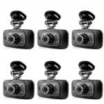 กล้องติดรถยนต์รุ่นฮิต ฟังก์ชั่นครบ รุ่น GS8000L HD DVR ซื้อ 6 ตัว ประหยัด ราคาถูกสุดๆ