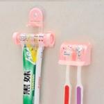 GK031 ที่แขวนแปรงสีฟัน ยาสีฟัน ป้องกันแมลงและสิ่งสกปรกต่างๆ ยึดติดโดยจุกสูญญากาศ ไม่ต้องเจาะหรือติดกาว